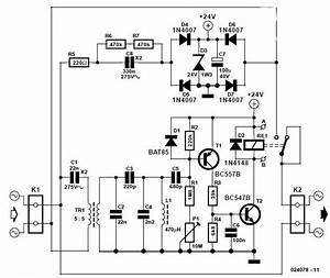 Remote Control Schematic Diagram