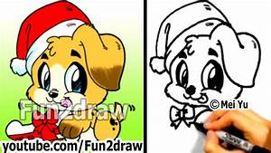 Fun2draw Christmas Animals | www.imgkid.com - The Image ...