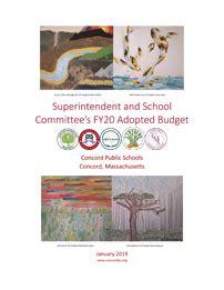 annual budget books concord public schools