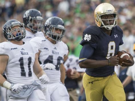 south tribune 10 17 notebook malik zaire trying to find his edge as notre