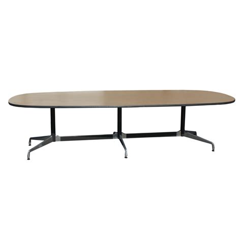 10ft vintage oak herman miller eames conference table ebay
