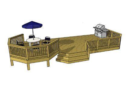deck plans diy deck designs deckscom