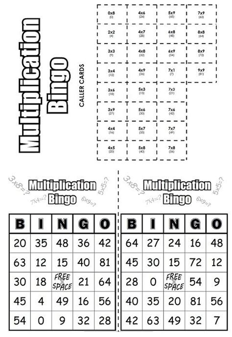 check out this multiplication bingo game math super teacher worksheets pinterest third