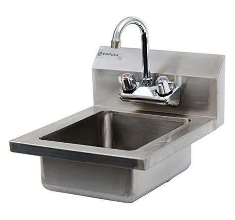 stainless steel wall mount commercial sink commercial stainless steel wall mount hand washing sink w