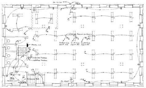 Building Symbol For Cabling Diagram by Electrical Drawing For Architectural Plans