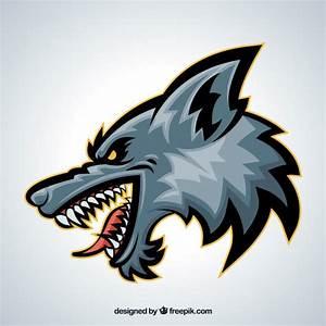 Cartoon Wolf Head | Adultcartoon.co