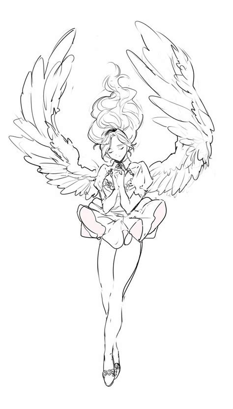 image result  angel poses drawing poses