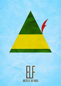 minimalist movie poster - elf :) | Cinematic | Pinterest ...