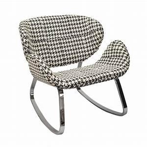 Fauteuil Pied Metal : fauteuil bascule pied de coq pieds en m tal maison et styles ~ Teatrodelosmanantiales.com Idées de Décoration