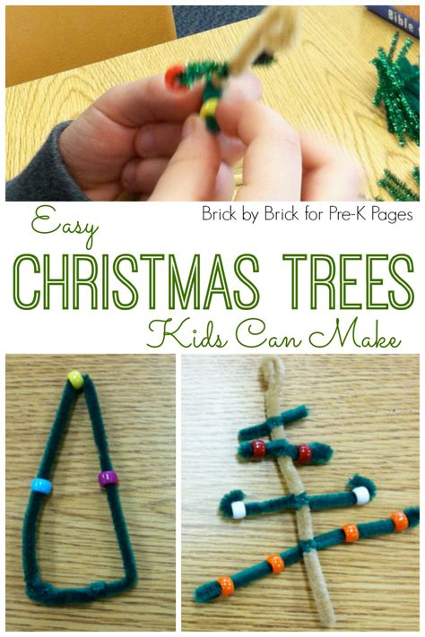 christmas ornament project for pre k easy trees ornaments pre k pages
