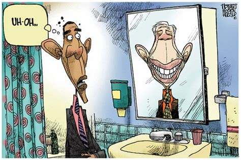 Obama Vs. Carter Cartoons