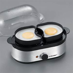 Eierkocher 4 Eier : cloer 6099 eierkocher mit akustischer fertigmeldung 400 w ~ Whattoseeinmadrid.com Haus und Dekorationen