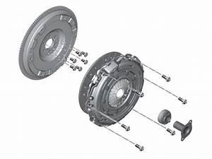 Mini Cooper Clutch  U0026 Flywheel Service Kit Oem Gen2