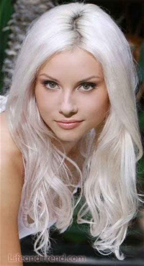 hair styles for white hair women best hairstyles