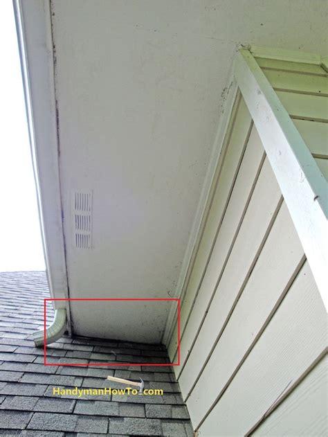 repair rotted soffit  fascia home repairs