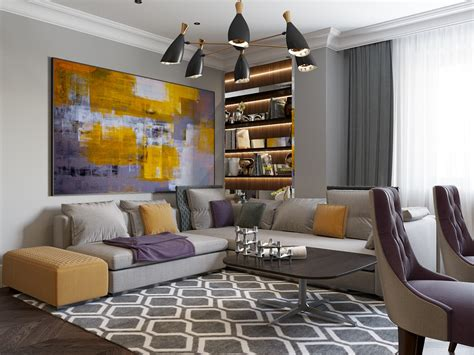2 Beautiful Home Interiors In Deco Style by 2 Beautiful Home Interiors In Deco Style