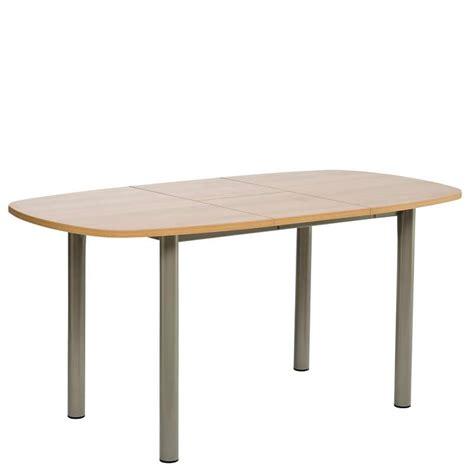 table de cuisine extensible table de cuisine en stratifié avec allonge lustra 4