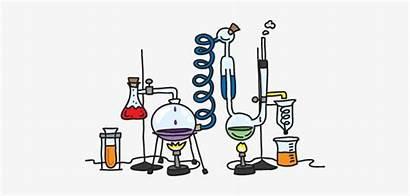 Lab Cartoon Science Equipment Animated Scientific Clipart