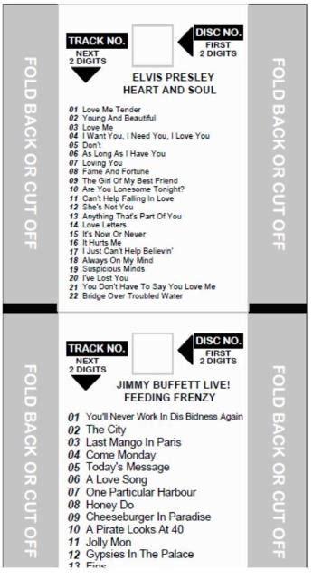 Jukebox Labels Template by Jukebox Title Templates 4 99 Amusement