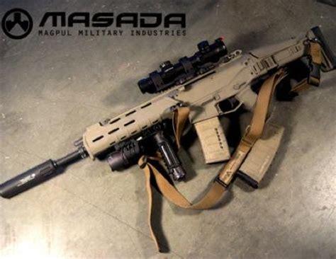 magpul masada   bushmaster acr  firearm blogthe firearm blog