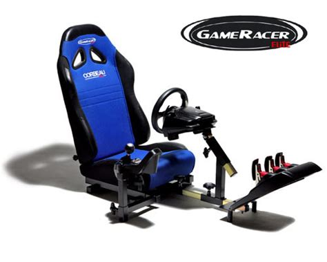 gameracer elite driving simulator multi platform gaming