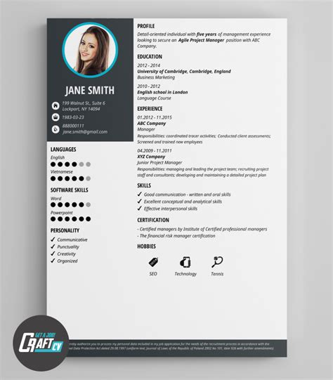 Cv Layout by Modern Cv Exle Original Cv Layout Resume Templates