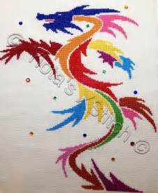 Free Cross Stitch Patterns Dragons