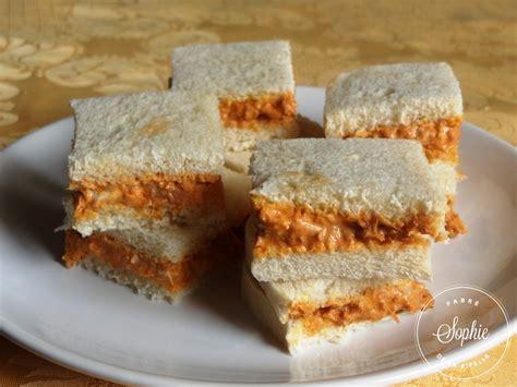 cuisine chti mini sandwiches au thon et à la tomate la tendresse en