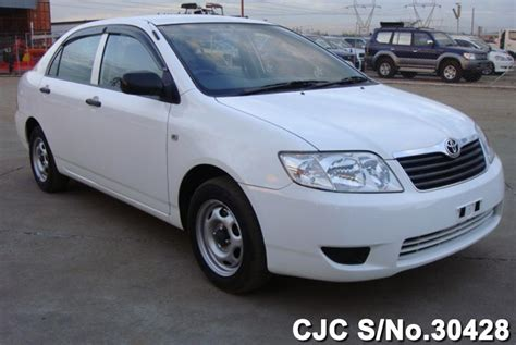 automotive air conditioning repair 2005 toyota corolla electronic valve timing 2005 toyota corolla white for sale stock no 30428 japanese used cars exporter