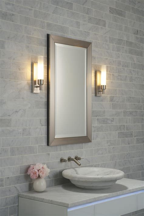 Bathroom Wall Lights For Mirrors by 20 Best Collection Of Fancy Bathroom Wall Mirrors Mirror