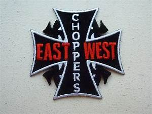 East Coast Choppers West Coast Choppers Embroidered Iron On