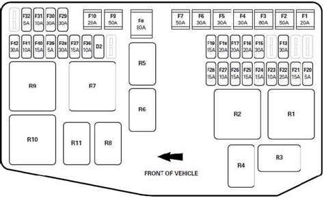 jaguar  type fuse box diagram fuse diagram