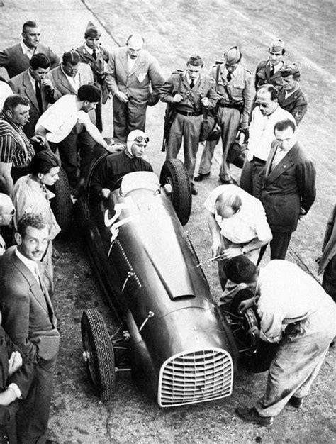 juan manuel fangio at monza 1949 f1 canam imsa petit dakar rally wrc london sydney le mans