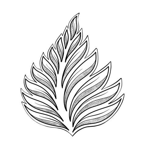 drawing leaves easily  simple shapes jspcreate