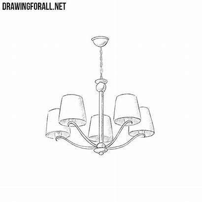 Draw Chandelier Drawingforall
