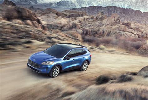 ford escape unveiled  car   phev