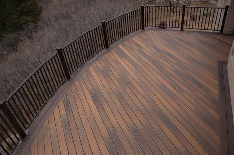 bending azek decking decks fencing contractor talk