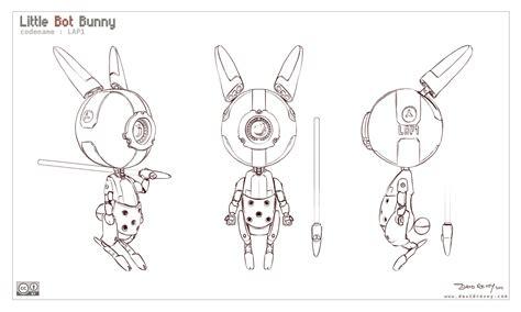 model sheet  bot bunny david revoy