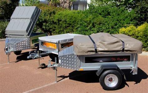 motorbike camper trailer