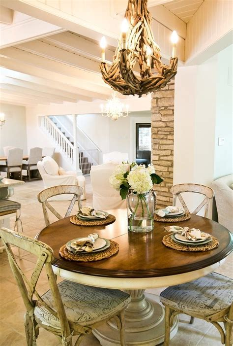 Astonishing Round Kitchen Tables with Dining Table Rustic