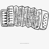 Accordion Clip Coloring Diatonic Button Guide Netclipart sketch template
