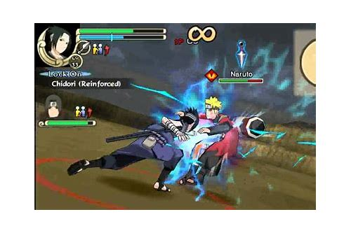 download ppsspp naruto impact cso