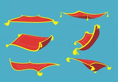 Carpet Vector Aladdin Magical Magic Flying Svg