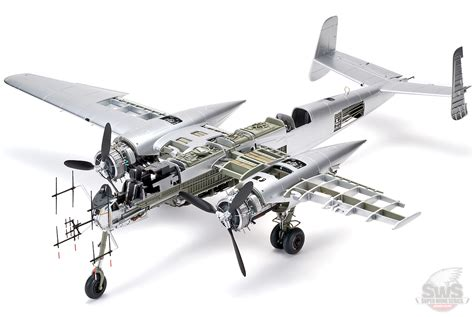 132 He 219 A0 Uhu Model Kit [sws06 Kit]  €16450 Rb