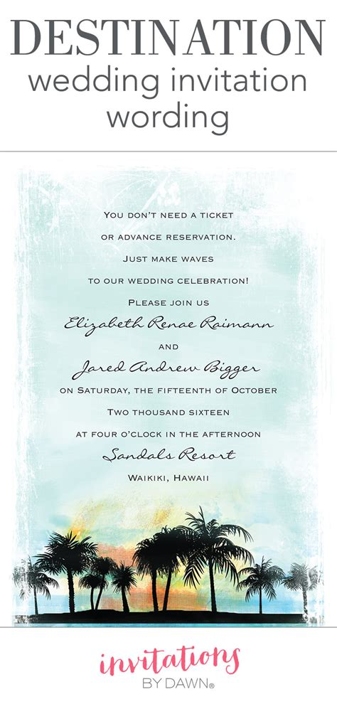 destination wedding invitation wording destination wedding invitation wording invitations by