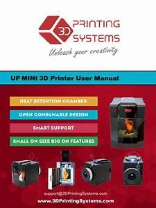Up Mini 3d Printer Manual Pdf