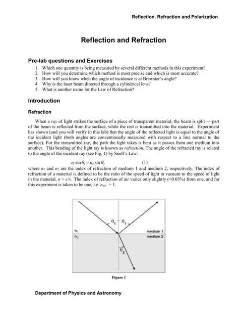 worksheet reflection and refraction worksheet grass