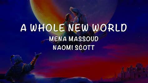 Aladdin OST A Whole New World Lyrics Mena Massoud
