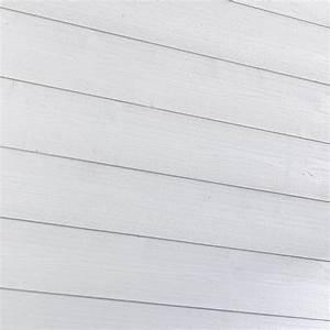 Lambris Peint En Blanc : lambris sapin blanc 205x13 5cm lambris bois pvc et lame ~ Dailycaller-alerts.com Idées de Décoration