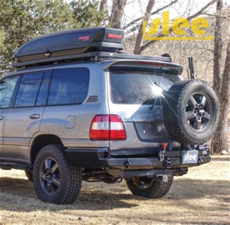 Slee Offroad by 100 Series Slee Rear Bumper With Tire Carrier 1750